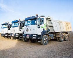 ASTRA Dump Trucks
