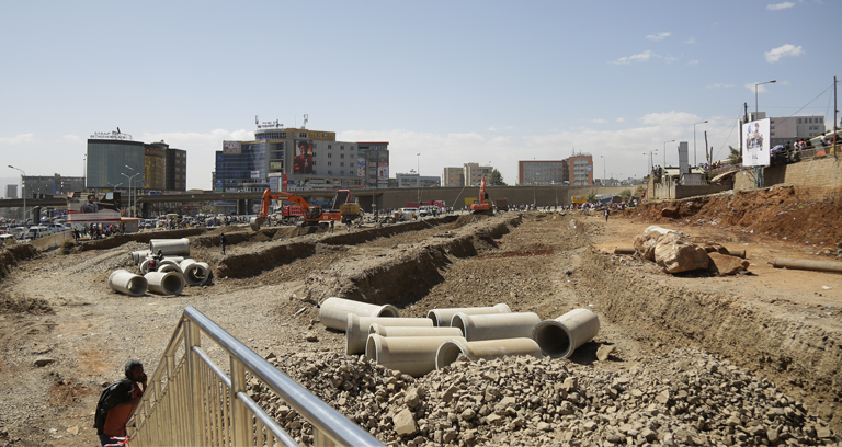 Megenagna lot 1 and 2 Road Project -Megenegna Taxi way supplementary project