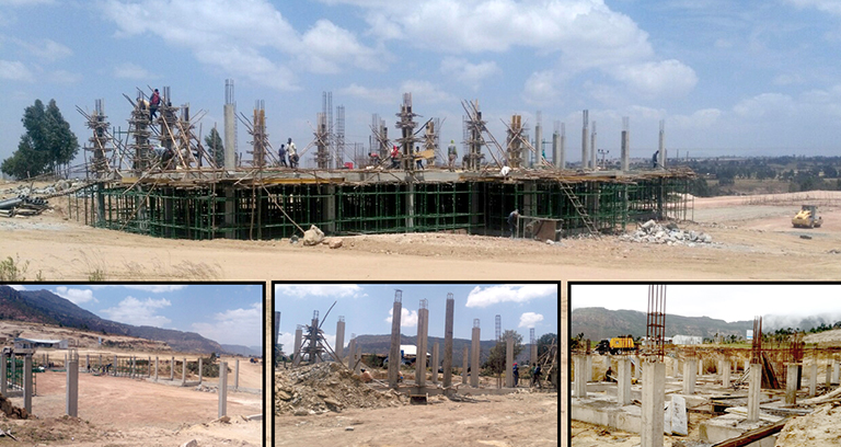Goda Bottle and Glass Factory Project well under progress (1-10-2018)