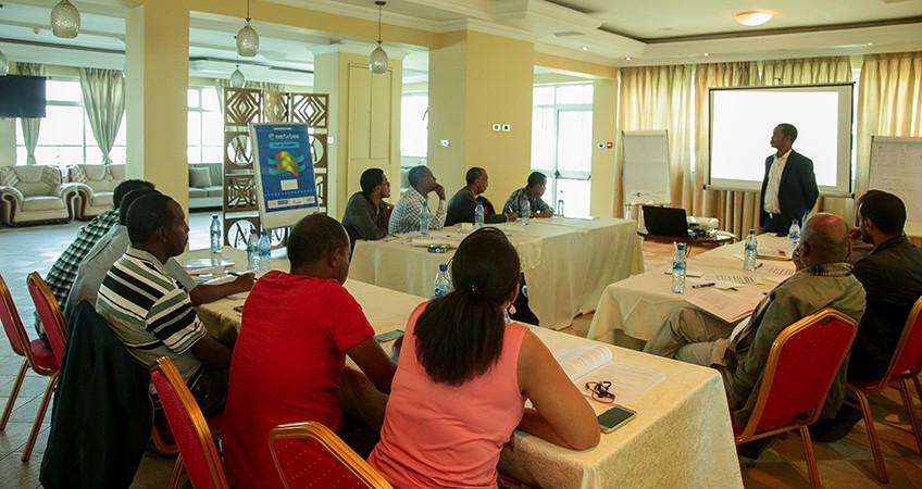 TOP MANGEMENT TEAM taking ISO 9001 training