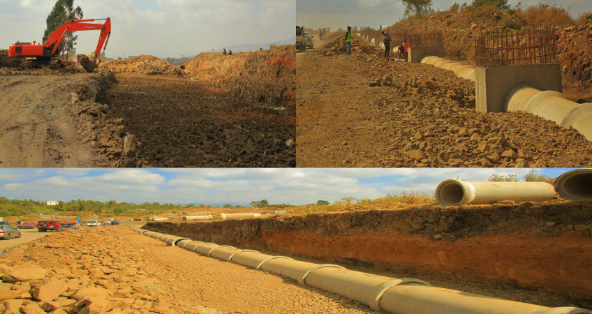 bole michael ring road under progress  new ..sjpg
