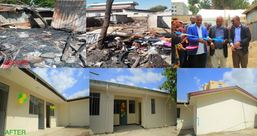 five burend houses Rwanda inagurated