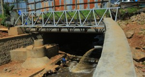 Addis Ababa river crossing steel bridge _ postabet_ project 1