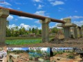 river crossing steel bridge project news pic -3
