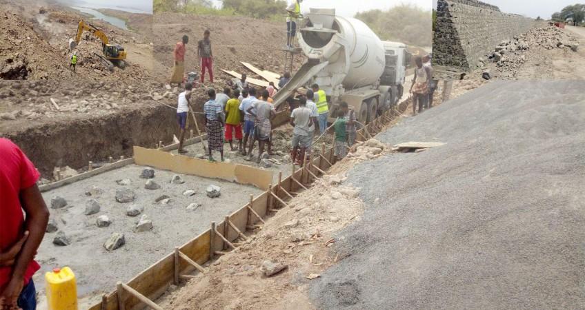 Asita Afambo to the Djibouti border road project